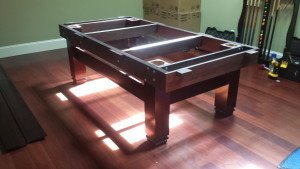 Correctly performing pool table installations, Tallahassee Florida