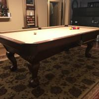 Brunswick Contender Pool Table and Accessories